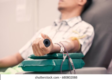 Transfusion blood donation,blood donor at hospital, Healthcare and charity concept
