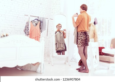 from Kayson transgender choosing clothing
