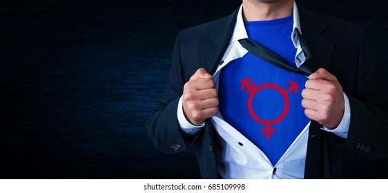 Transgender symbol.