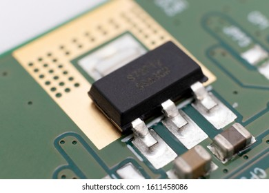 Transistor on an LCD TV printed circuit board