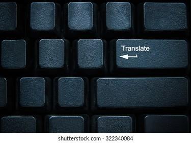Translate button on computer keyboard