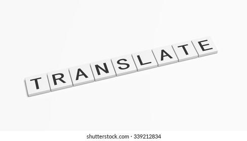 Translate word.