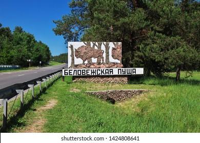 """Translate=""""Belovezhskaya Pushcha"""". National park Belovezhskaya Pushcha in Belarus country"""