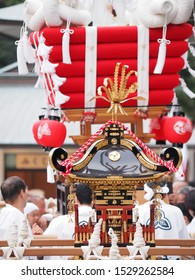 Translated portable Shinto shrine. Nishinomiya Shrine,  Kinki, Japan.