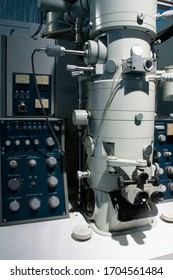 transmission electron microscope used in antivirus research