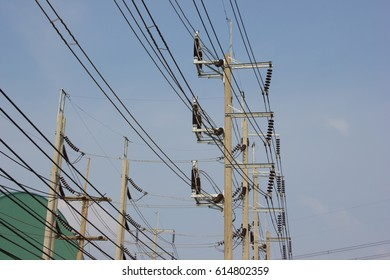 Transmission lines with air break switch (ABS)