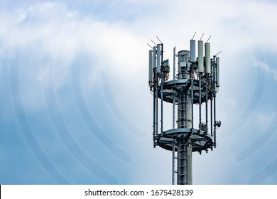 transmission mast, used for telecommunications