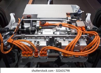 Transmission of a modern plugin hybrid vehicle