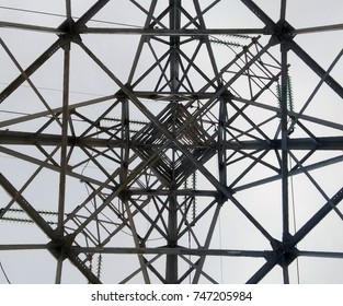the transmission tower
