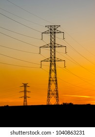 transmission towers in Europe