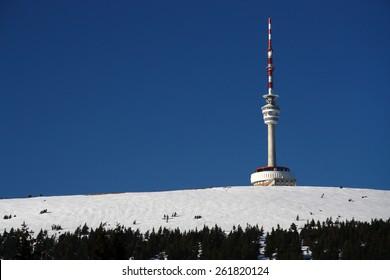 Transmitter tower Praded