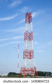 Transmitting tower in Gimje-si, South Korea.