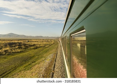 Trans-Mongolian Train Journey