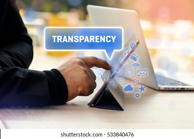 Transparency, Business Concept