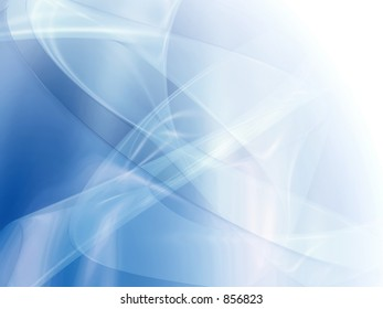 Transparent abstract trails background.