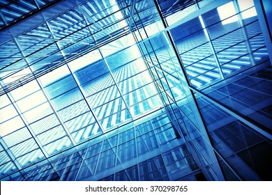 transparent building structure