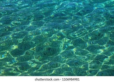 Transparent ocean background