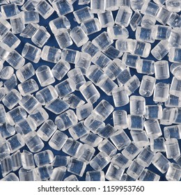 Transparent polystyrene granules. Raw materials for the production of polystyrene.