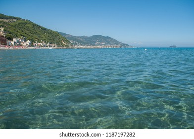 transparent water of the Ligurian Sea