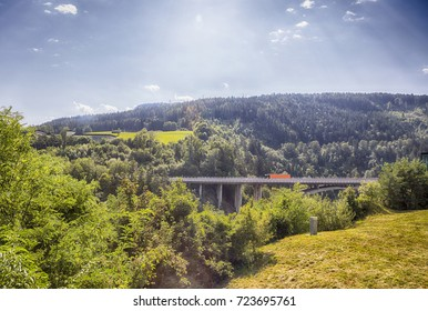transport bridge near Innsburg, Austria