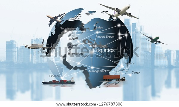 Transportation Importexport Logistic Shipping Business