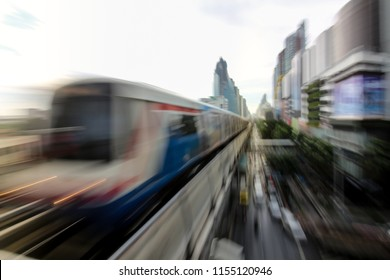 Transportation in the metropolis.