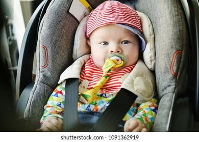 transportation of newborn in car in car seat