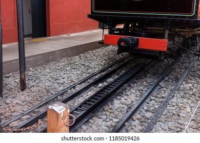 Transportation - steam train line
