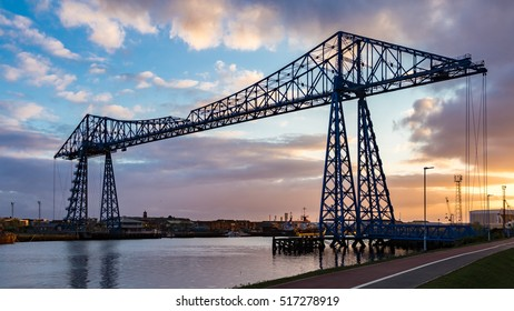 Transporter Bridge, Middlesbrough, UK