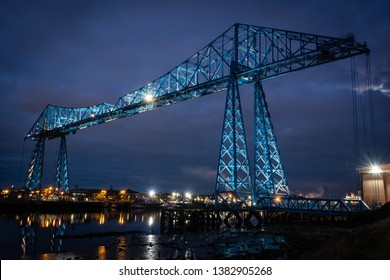 Transporter Bridge at Night Middlesbrough