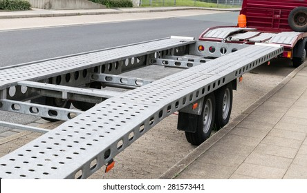 For transporting trailers