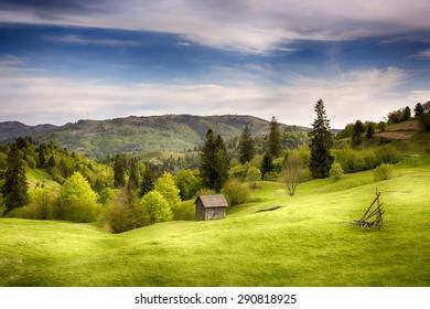 Transylvania, Maramures, wild hills