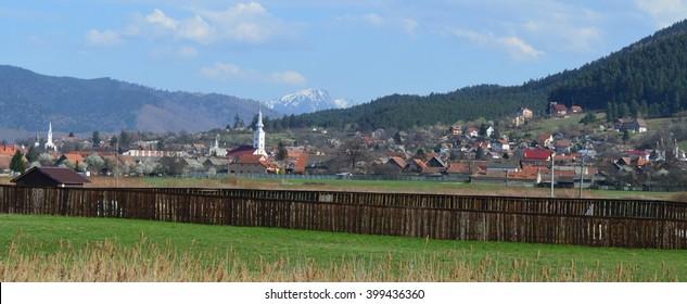Transylvanian village Sacele
