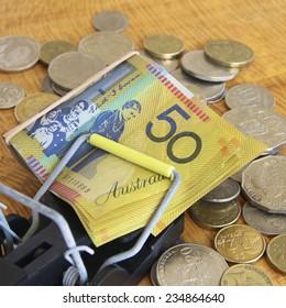 Trapped Australian Dollars