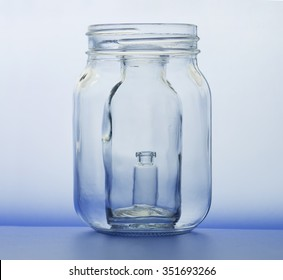 Another Mysterious Product Of >> Trapped Jar Inside Jar Inside Another Stock Photo Edit Now