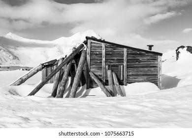 Trapper's hut, Spitsbergen