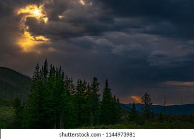 Trappers Lake Colorado
