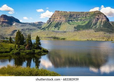 Trappers Lake In The Flattops, Colorado