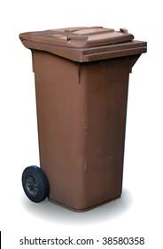 trash can, organic waste