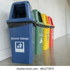Trash and waste types to help reduce environmental problems.