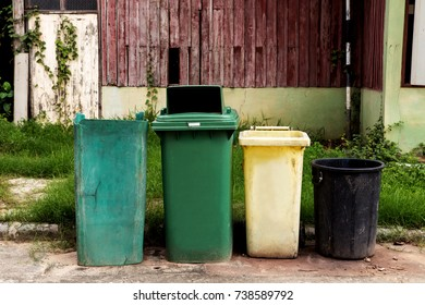 Trashcan is located in the community