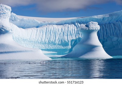 Travel among the Antarctic ices. Global warming on the planet and climate changes. Fantastic landscapes of the Southern continent.