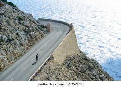 travel by bike in majorca