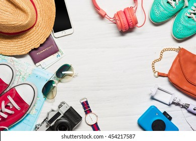 The travel and clothing accessories