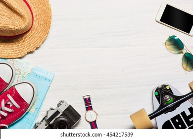 The travel and clothing accessories apparel along for the men