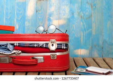 travel concept objects