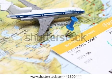 Travel Conceptual Plane Flying Over India Stock Photo Edit Now