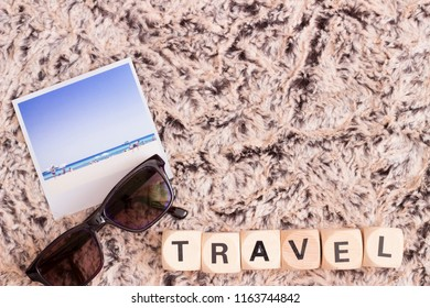 travel, with copy-space