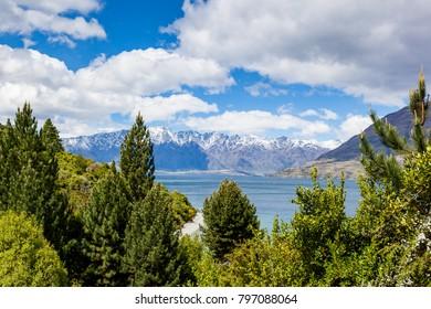 Travel destination - Remarkables, Queensland, New Zealand