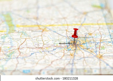 Nashville Map Images, Stock Photos & Vectors | Shutterstock